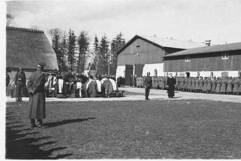 I alt 16 sønderjyske soldater døde i kampen mod tyskerne.
