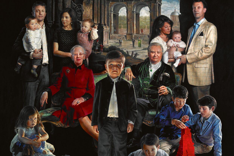 dansk kongefamilie