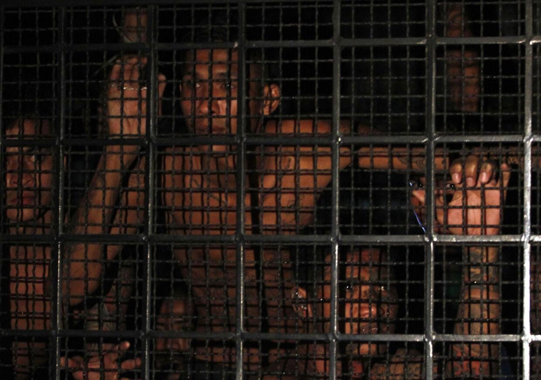 Den 36-årige dansker har tidligere siddet fængslet i et åbent fængsel i Danmark, hvor han afsonede to år for narkosmugling. Fængslerne i Thailand er dog meget anderledes. Billedet her stammer fra en fangetransport i Bangkok (Arkivfoto)