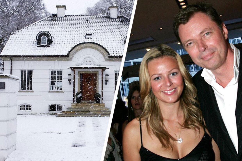 Klaus Riskær og Jill Andersens luksuspalæ i Holte er blevet solgt for 41.9 millioner.