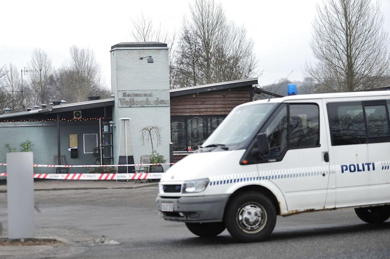 Overvågningsbilleder fra brandnatten viser, hvem der ankom til Amin Skovs landskendte spisested, Vejlegården, som han forpagter (arkivfoto).