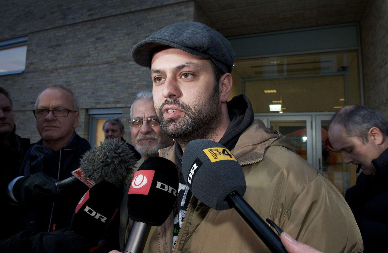 Jeg glæder mig over kendelsen, men der skal ikke fejres noget i aften, tilføjede Amin Skov, der understregede, at han nu skulle hjem og barbere sig.