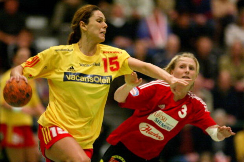 Ana Razdorov (15) bliver lejet ud af Kolding IF til Århus SK. Razdorov har tidligere spillet for GOG (bill.) og Odense.<br>Arkivfoto: Thorkild Amdi