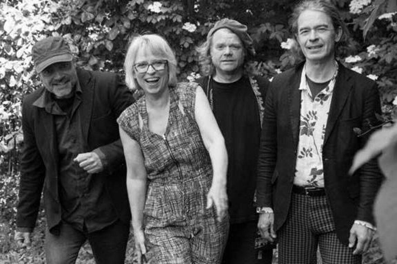 Fra venstre er det Jon Bruland, Dorte Hyldstrup, Otto Sidenius og Carsten Milner