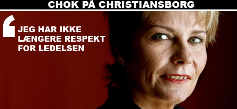 Det konservative folketingsmedlem Pia Christmas-Møller forlader De Konservative.