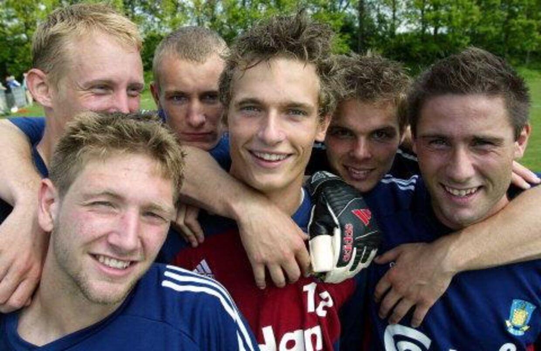 Fra venstre: Casper Ankergren, Allan Olesen, Thomas Khalenberg, Jonas Kamper, Peter Foldgast og Martin Retov. Foto: lars Møller.