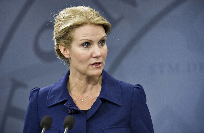 Statsminister Helle Thorning-Schmidt (S)
