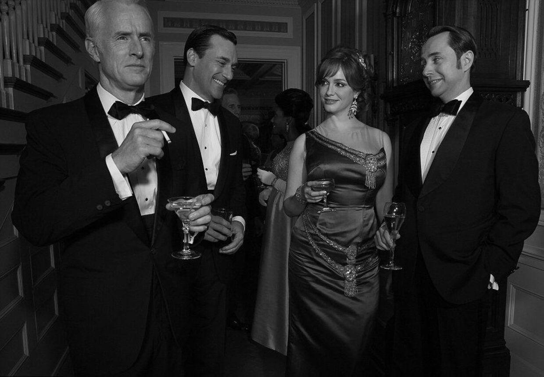 Gensyn med vennerne....Amerikanerne tager hul på sæson 6 af Mad men i april. Foto: AMC