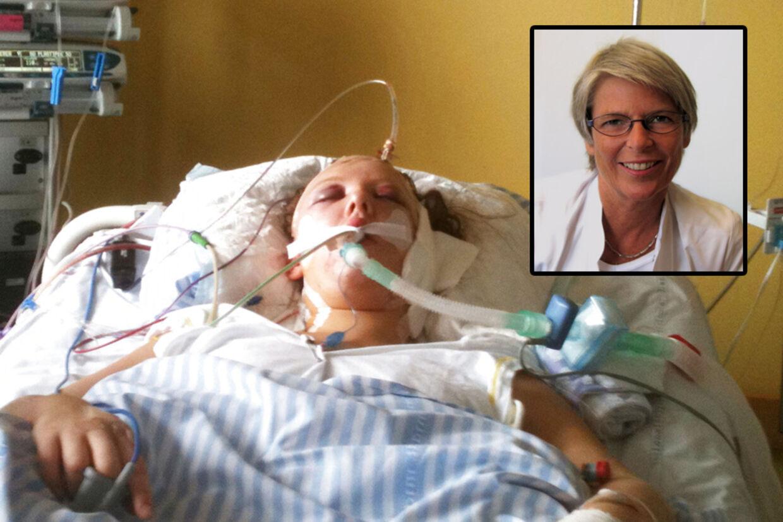 Overlæge Benedicte Dahlerup afviste overfor familien Melchior, at Carina ville vågne op igen. Derfor bad hun dem tage stilling til organdonation.