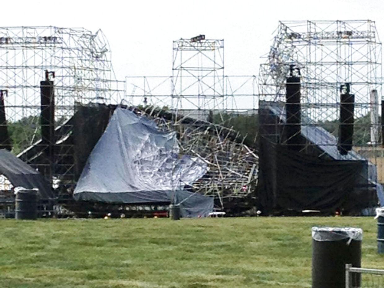 Scene kollapsede ved Radiohead-koncert i Canada.
