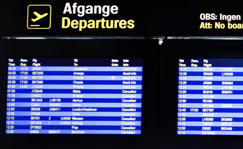 københavns lufthavn ankomst udenrigs
