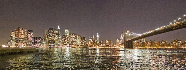 New York by night.