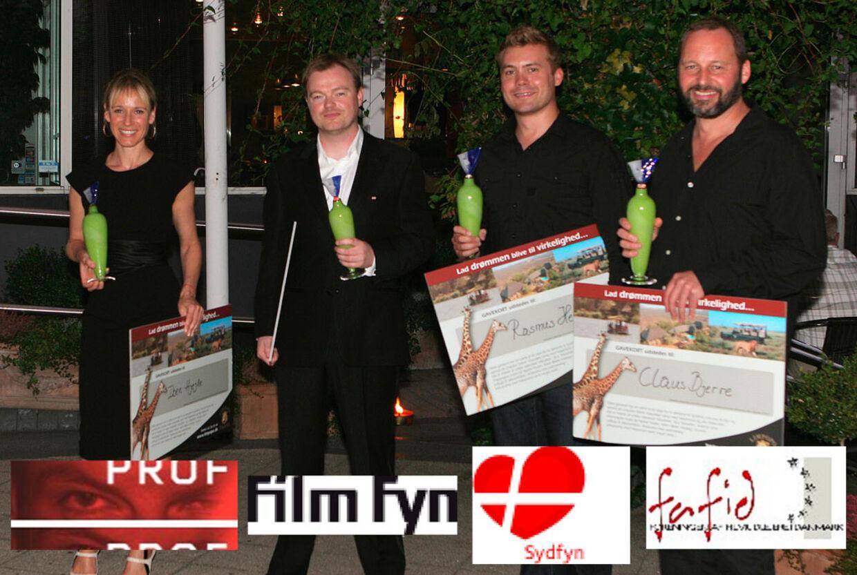 Iben Hjejle, Christian E. Christiansen, Rasmus Heide og Claus Bjerre var blandt vinderne, da sidste års Svendpris blev uddelt.