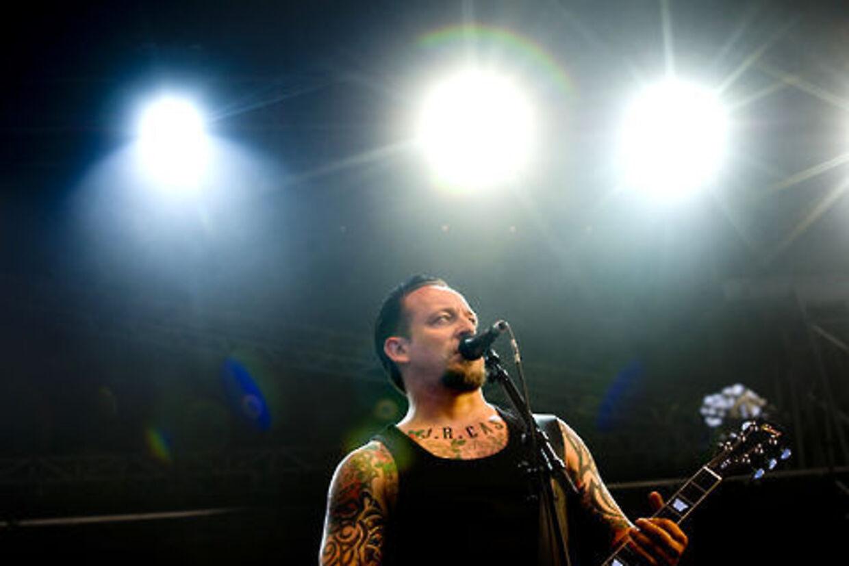 Michael Poulsen er frontmand i Volbeat - og aktuel med albummet »Guitar Gangsters & Cadillac Blood«