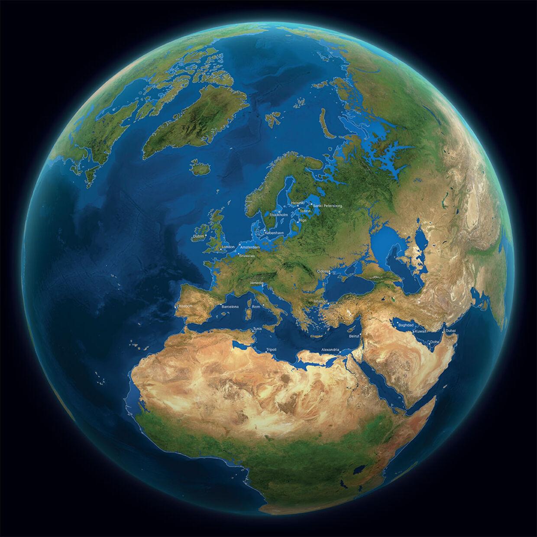 hvor meget af jorden er dækket af vand