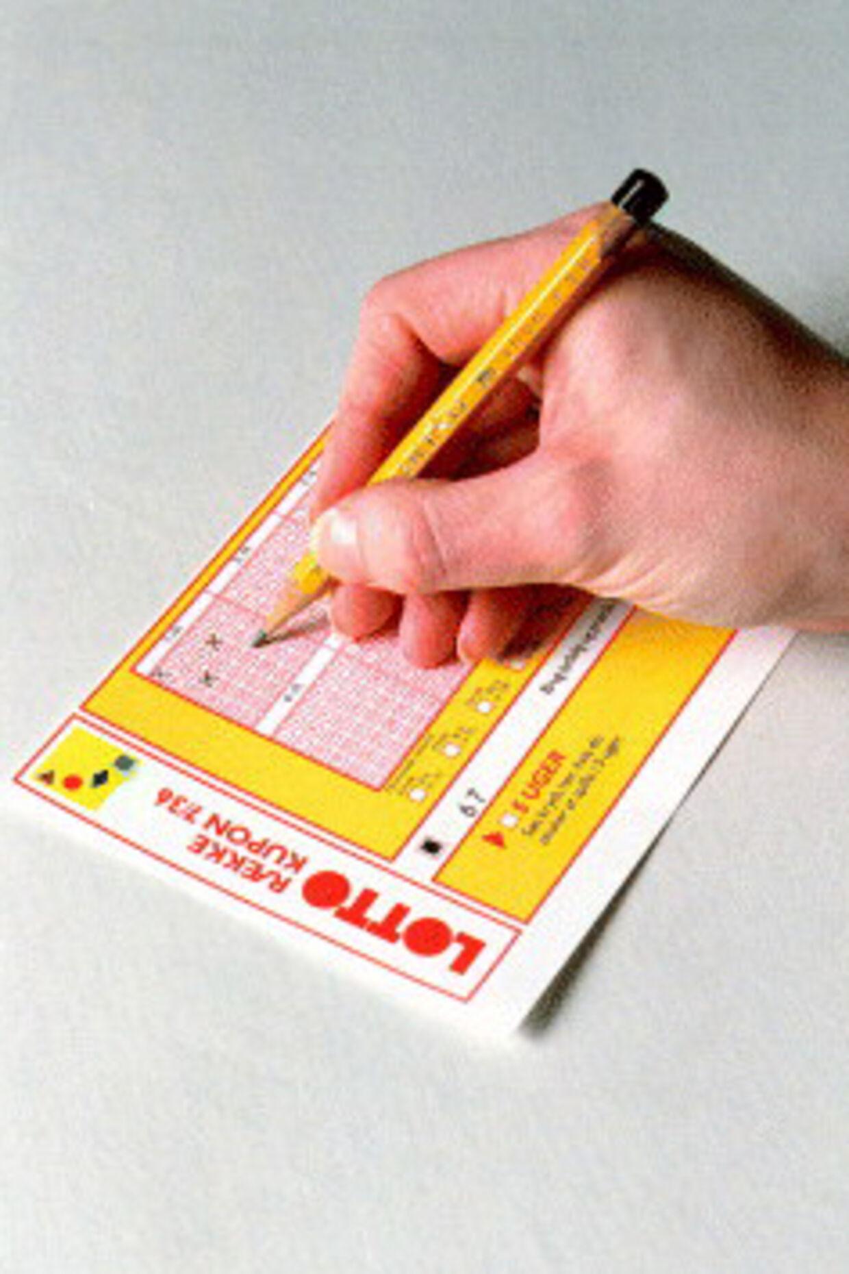 Ni ud af ti danskere taber  gerne penge på tips og lotto, hvis bare overskuddet går til  velgørende formål.