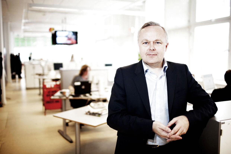 BTs chefredaktør Olav Skaaning Andersen.
