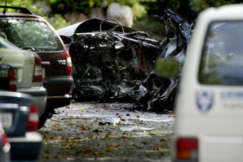 Eks-rockeren Mickey Larsen blev dræbt i sin bil uden for Amtssygehuset i Glostrup.<br>Arkivfoto: Claus Bjørn Larsen