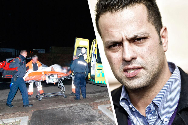Restaurant Vejlegårds ejer, Amin Skov, blev fundet bevidstløs og hårdt medtaget uden for sit brændende spisested