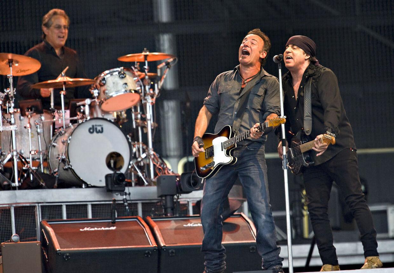 Bruce Springsteen bliver hovednavn på Roskilde i 2012.