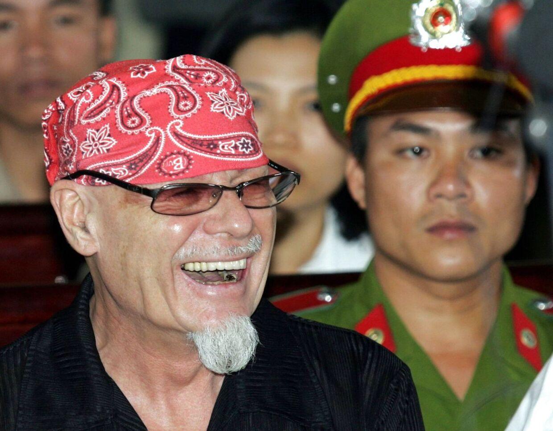 Gary Glitter, da han i 2006 blev dømt i en pædofil-sag i Vietnam. Nu er han igen indblandet i en sag om sex med mindreårige.