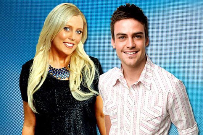 Fup-værterne Mel Grieg og Michael Christian fra den australske radiokanal 2DayFM.
