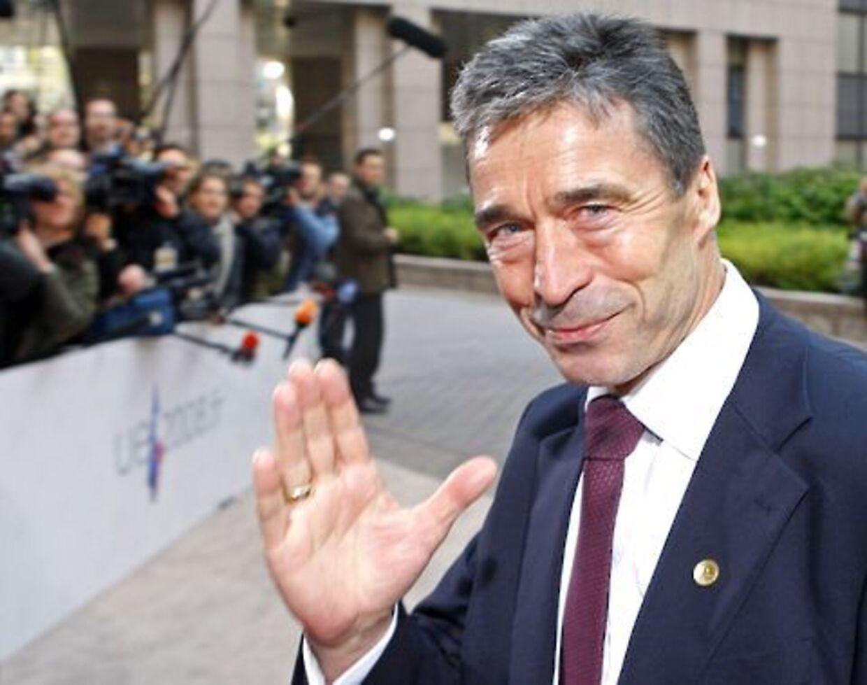Anders Fogh Rasmussen kan forlade dansk politik, for man aner, mener Venstres Troels Christensen.