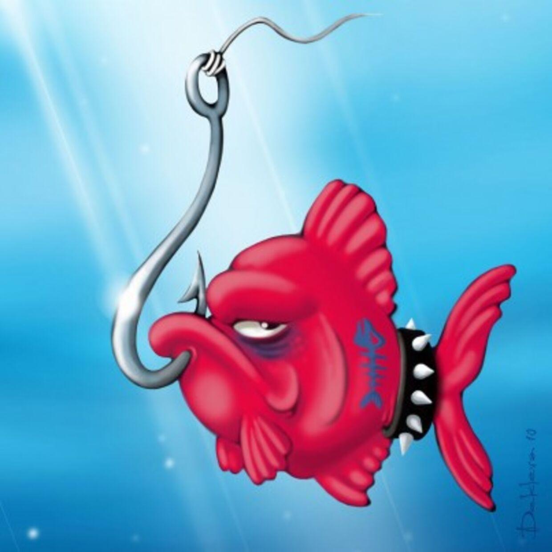 sprøjt fisk