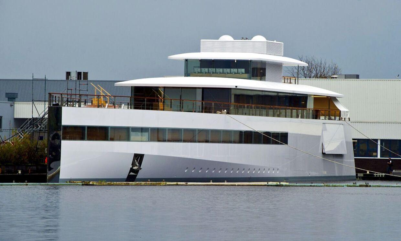 Steve Jobs superyacht
