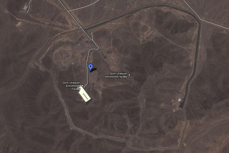 Eksplosionen skete angiveligt på anlægget Fordow, der ligger omkring 150 kilometer sydvest for Teheran ved den hellige by Qom