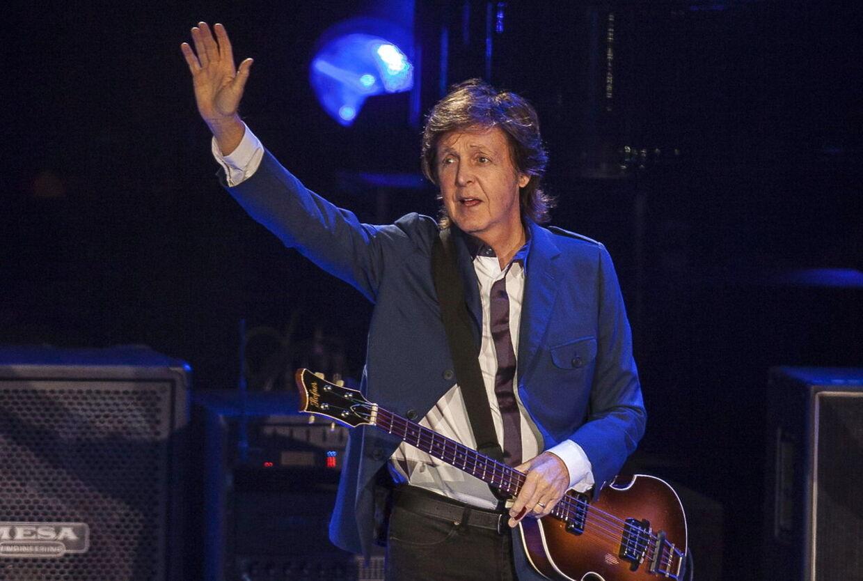 Så er han her. Paul McCartney kommer til Roskilde denne sommer. Her er han ved koncerten i Rio de Janeiro i november 2014.