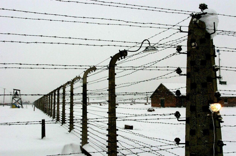 Dev var i koncentrationslejren Auschwitz i Polen, at 1,3 millioner jøder blev slået ihjel.