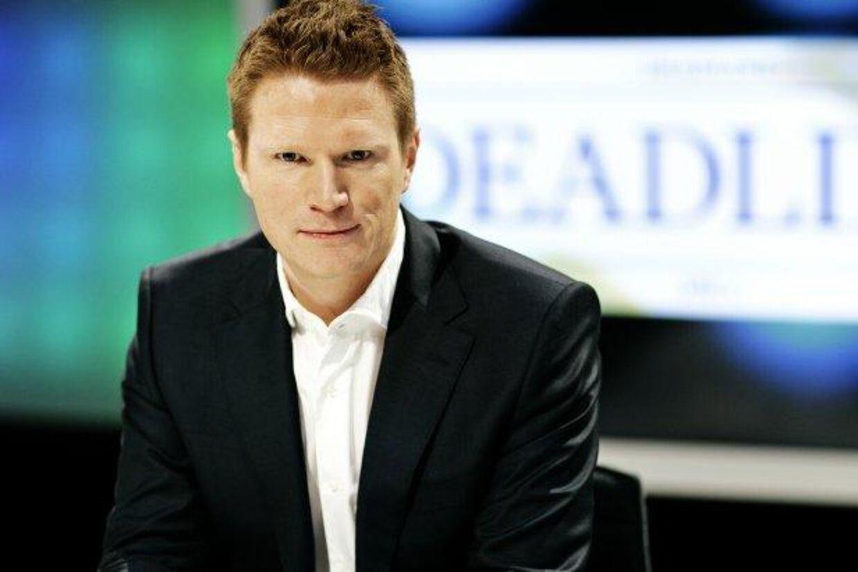 Deadline-værten Nikolaj Sommer skal i fremtiden arbejde side om side med finansminister Bjarne Corydon