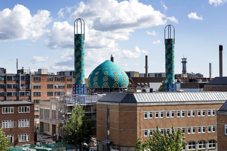 Imam Ali Moske på Vibevej på Nørrebro i København mangler at indsamle 10 millioner kroner, før byggeriet kan bygges færdig.