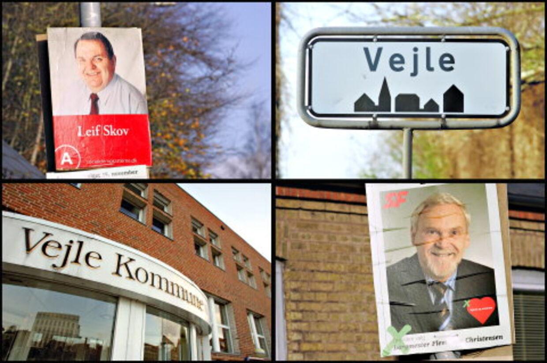 Socialdemokraten Leif Skov blev manden, der sendte SF'eren Flemming Christensen ud af borgmesterkontoret.<br>Foto: Claus Fisker