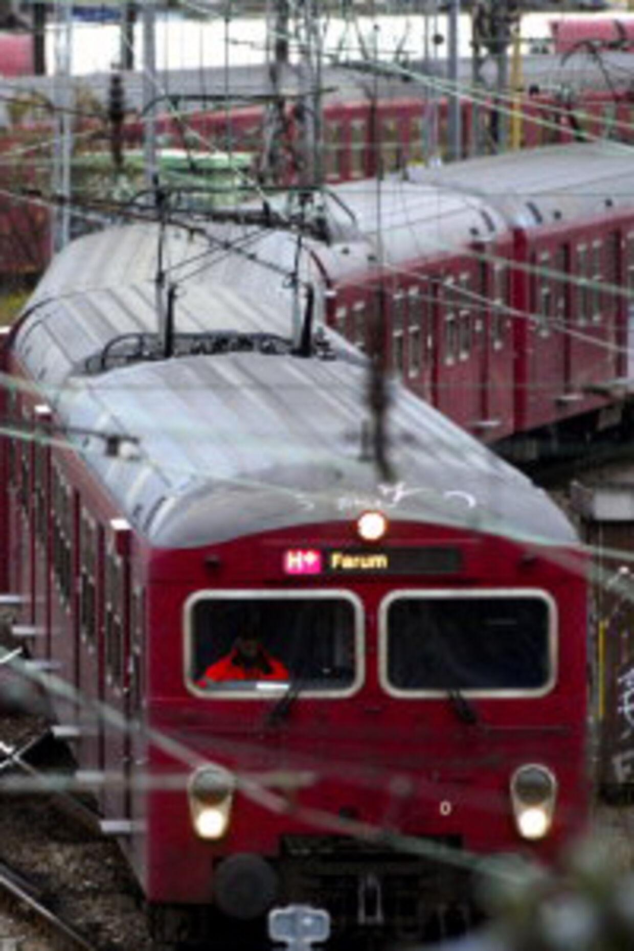 DSB har solgt asbest-tog til Iran.