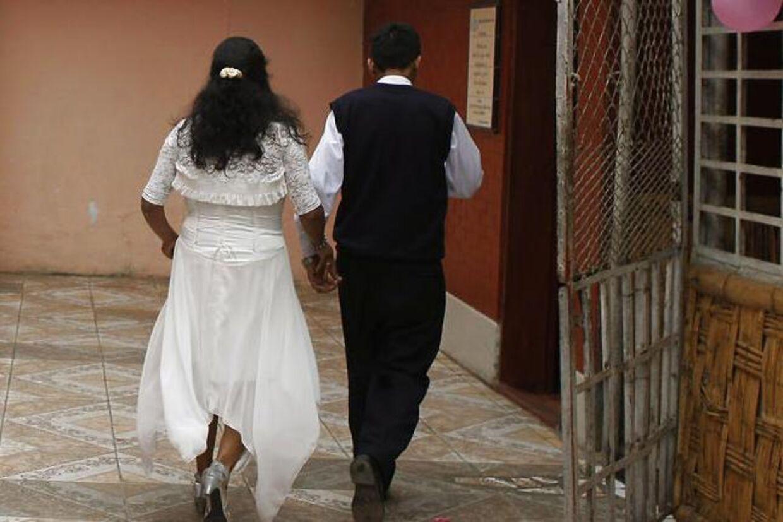 En argentinsk kvinde vil gifte sig med den mand, der er tiltalt for at have dræbt hendes søster. Arkivbillede.