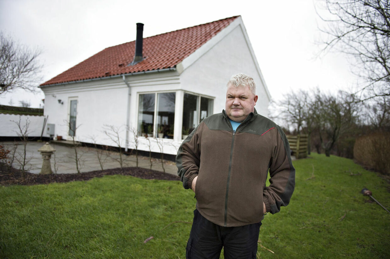 »Politikerne siger, de vil bevare yderområderne. Men er det sådan, man vil bevare udkants-Danmark? Ved at sætte en vindmøllepark op? Det er jo en kæmpe gene for området, men det viser jo, at man bare kan få lov at gøre, hvad man vil, hvis man har penge nok,« siger Kenneth Andi Jensen.