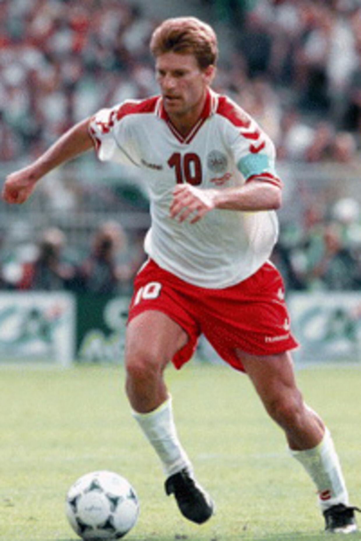 Michael Laudrup - danmarks bedste fodboldspiller igennem tiderne.<br>Arkivfoto: JENS NØRGAARD LARSEN
