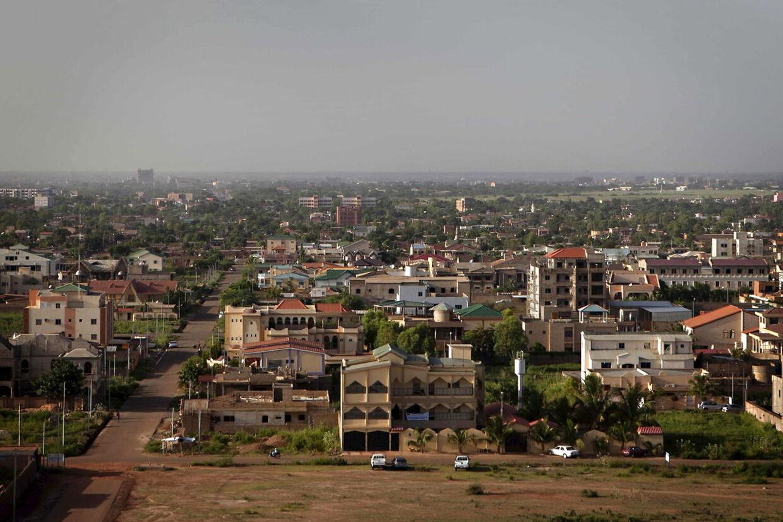Arkivfoto af Burkina Fasos hovedstad Ouagadougou.