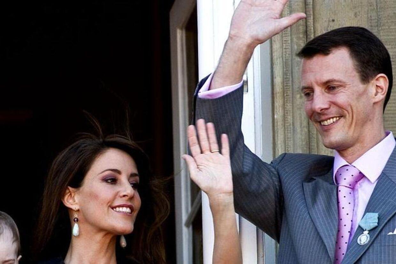 Prins Joachim og prinsesse Marie kommer ikke på barselsvisit på Rigshospitalet.