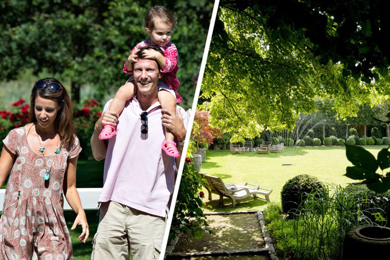 Prins Joachim og prinsesse Maries nye hjem vil fremover være nord for København i velhaverkvarteret Klampenborg. Den hvide villa ligger på en såkaldt kotelet-grund, hvilket vil sige, at grunden er omkranset af andre grunden og uden adgang direkte fra vejen. Det er da også meget svært at komme til at kigge bare det mindste ind (tv).