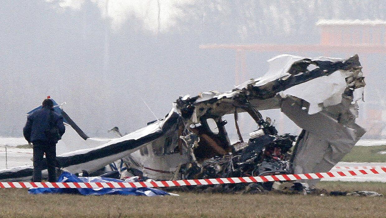 Det er et turistfly, der er styrtet ned i Belgien.