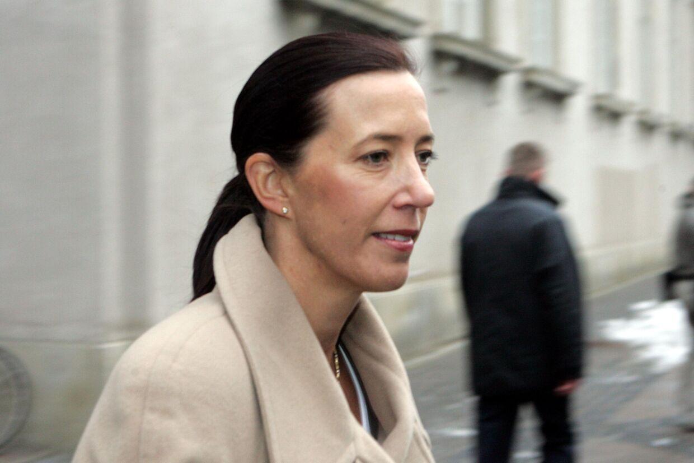Jane Stephens har været i Danmark til flere royale begivenheder. Her er det i forbindelse med prinsedåben.