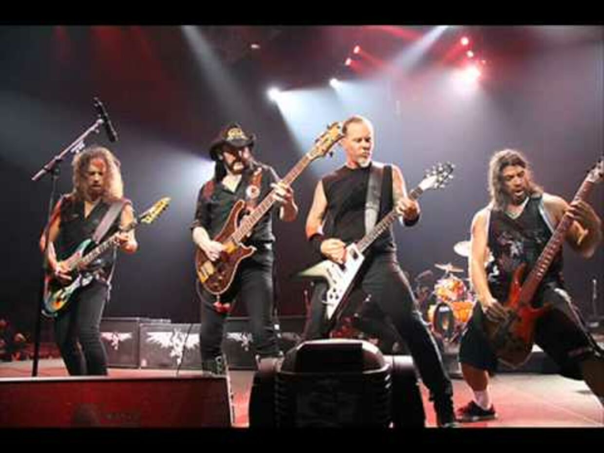 Lemmy Kilminster med Metallica