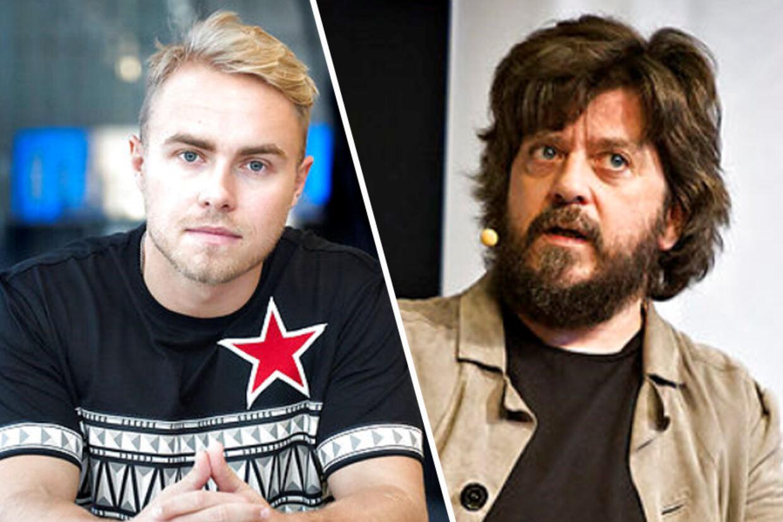 På det sociale medie Twitter er der udbrudt en regulær fejde mellem de to tv-personligheder Peter Falktoft og Anders Lund Madsen.
