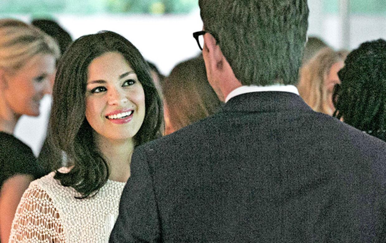 """Natalies debut som juristen Claudia i """"Bedrag"""" imponerer i den grad Nikolaj Lie Kaas."""