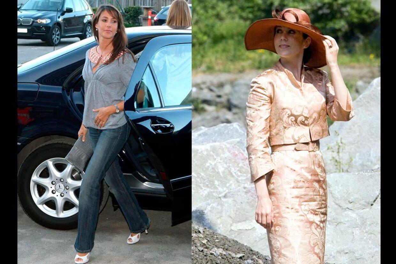 Selv om Mary og Marie er meget ens, så har de alligevel også nogle forskelle - blandt andet i deres tøjstil.