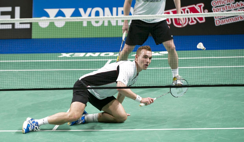 Mads Conrad-Petersen og Mads Kolding kunne ikke stille meget op mod de sydkoreanske favoritter.