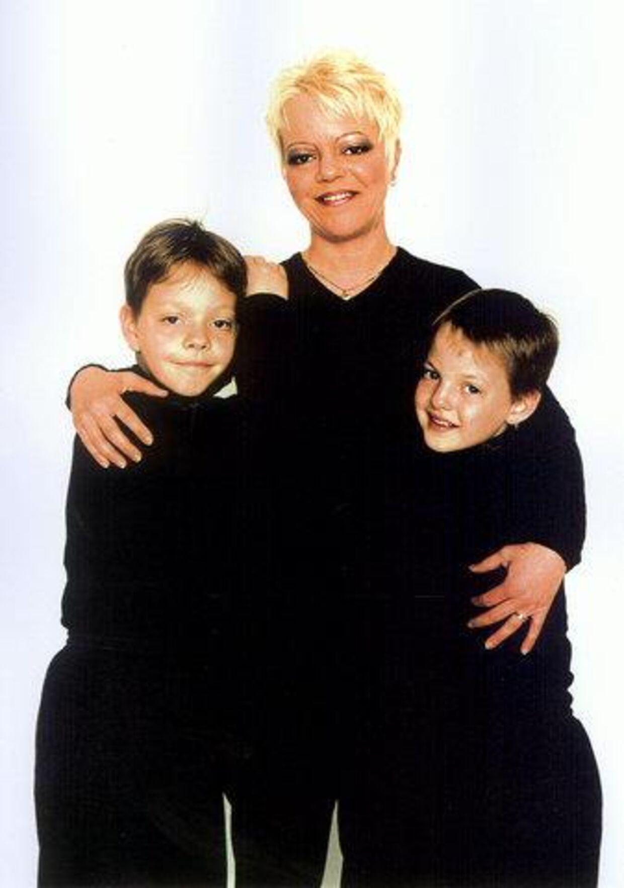 Marianne Pedersen og hendes to drenge fik brækket halsen, parteret -og smidt i kummefryseren. Foto Privat/Politiet.<p>